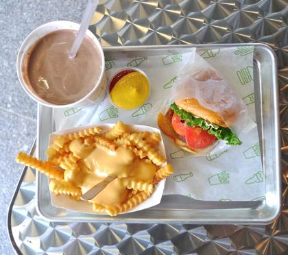 shake shack tray