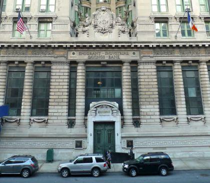 49-51 Chambers facade entrance