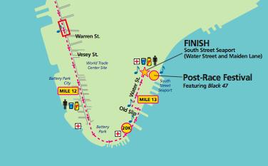 Map Of New York Half Marathon.Tribeca Citizen Seen Heard Mini Golf Open