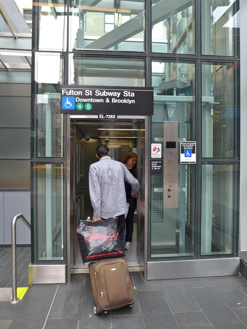 Tribeca Citizen New Subway Entrance Opens