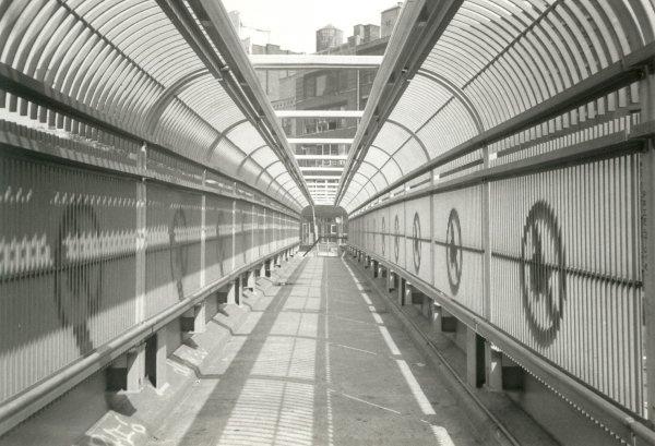 Holland Tunnel pedestrian bridge