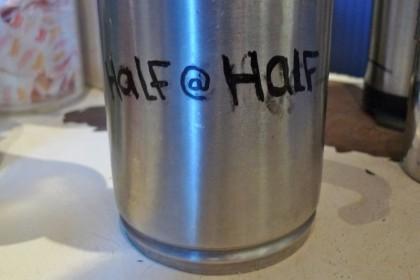 half at half blue spoon 71012