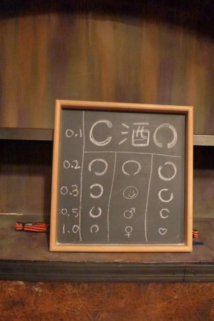 shigure eye chart