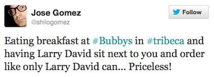 tweet larry david