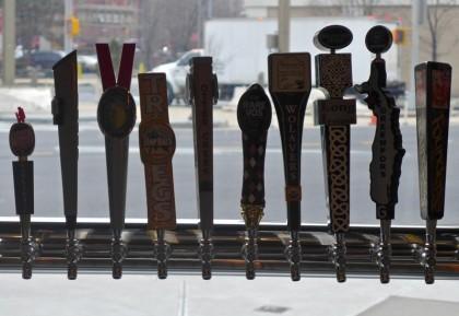 American Flatbread Tribeca Hearth beer taps