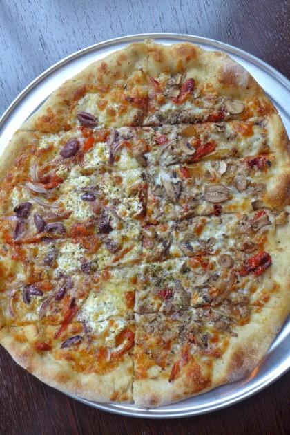 American Flatbread Tribeca Hearth pizza