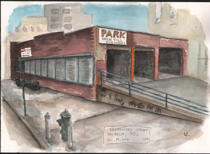 Desbrosses Street by Peter Koval