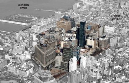 Hudson Square graphic