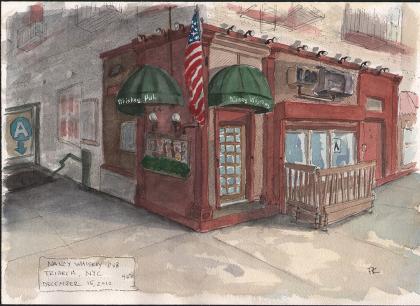 Nancy Whiskey Pub by Peter Koval