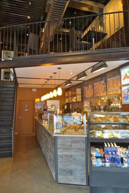 crave espresso bar counter