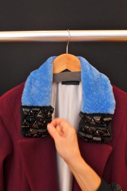 Haus Alkire Swarovski coat