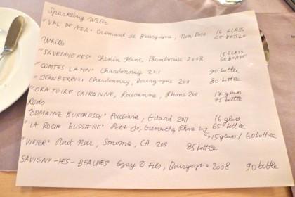 Le-Restaurant-wine-list