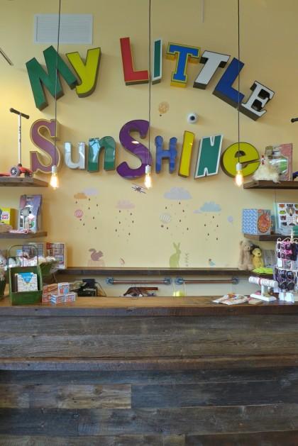 My Little Sunshine desk