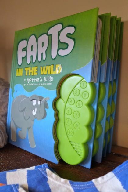 My Little Sunshine fart book