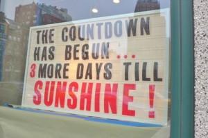 my little sunshine sign