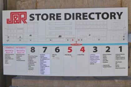 JandR sign