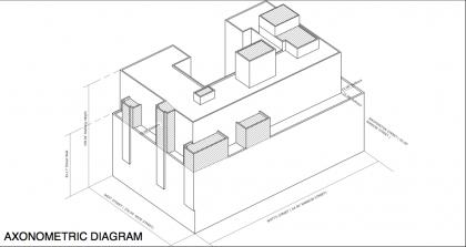 460 Washington axonometric diagram