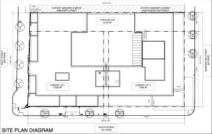460 Washington site plan diagram