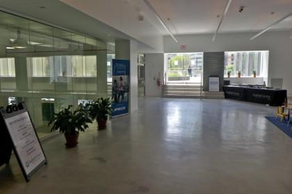 Asphalt Green lobby