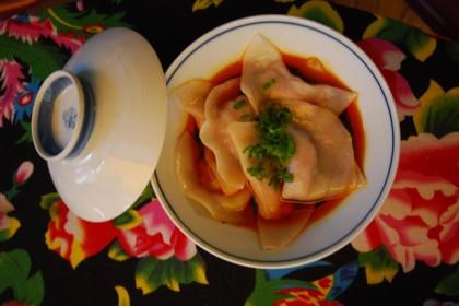 Dumplings-in-chili-oil