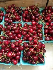 Greenmarket cherries