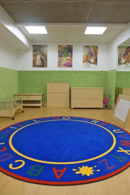 NY Kids Club classroom