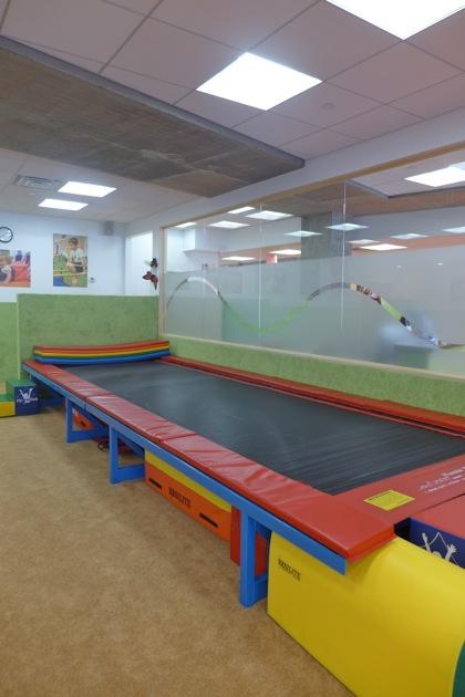NY Kids Club trampoline