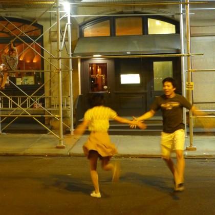 swing dancers duane park
