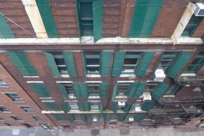 Cortlandt Alley from 370 Broadway