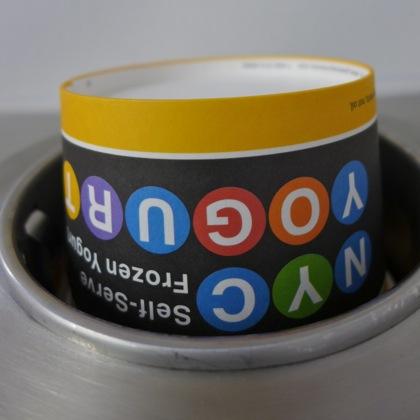 NYC Yogurt cup