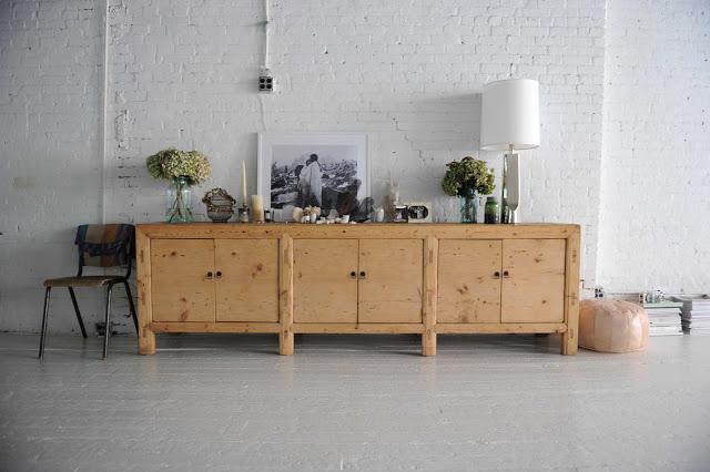 Gillian Tennant dining room sideboard