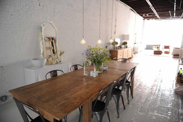 Gillian Tennant dining room