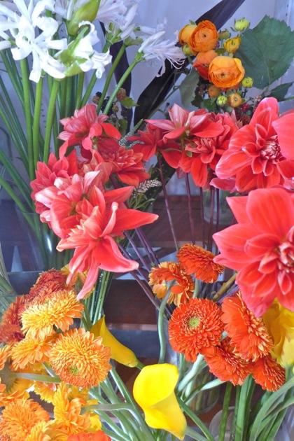 Mel Furukawa flowers in case