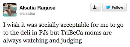 tweet deli in PJs