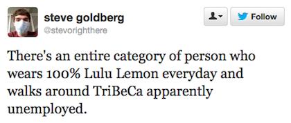 tweet lululemon every day