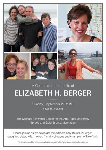 Liz Berger Memorial
