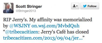 Stringer tweet