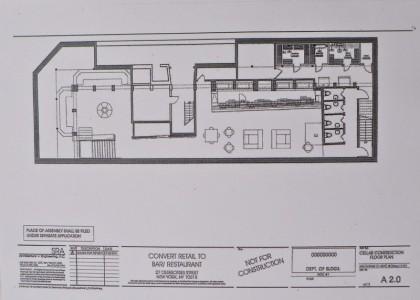 27 Desbrosses Street downstairs floorplan