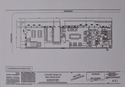 27 Desbrosses Street upstairs floorplan