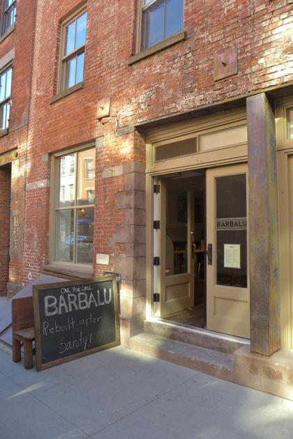 Barbalu front door