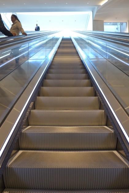 Escalator to Brookfield Place2