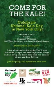 Seasonal Whispers kale party