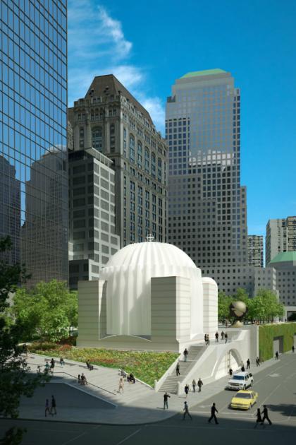 St Nicholas rendering courtesy Santiago Calatrava