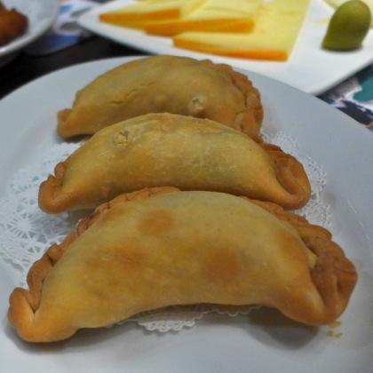 Tablao empanadas