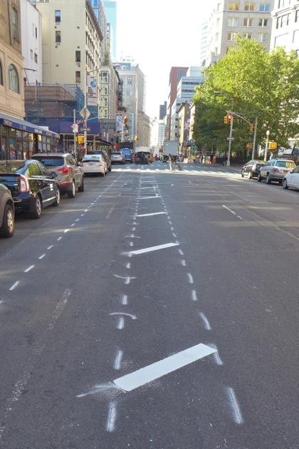 WBroadway bike lane