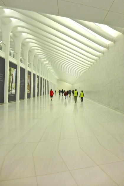 WTC passageway heading east