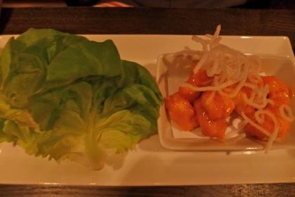 Bisutoro lettuce wraps