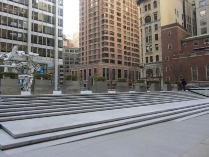 Chase Manhattan Plaza planters