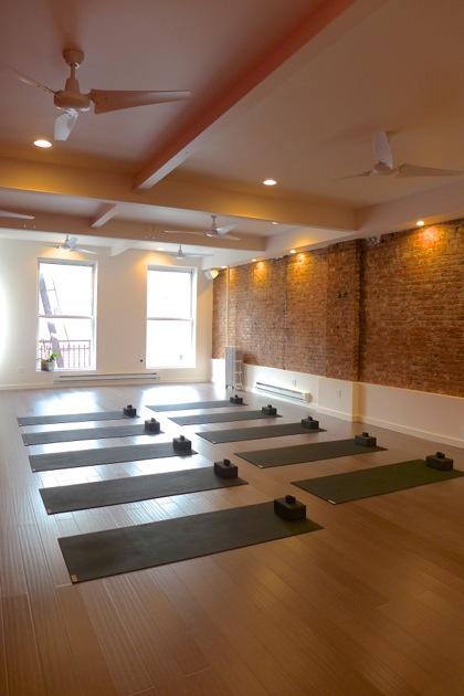 Lyons Den Power Yoga studio