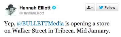 Bullett tweet 2